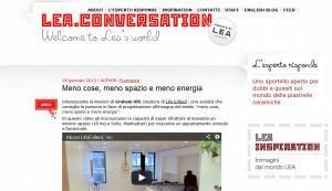 Lea Ceramiche blog