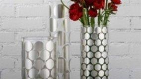 Raffinati vasi in vetro