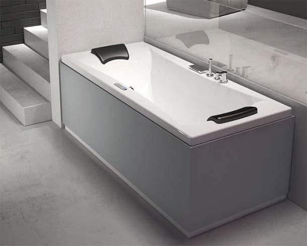 Tecnologia avanzata nelle vasche da bagno - Bordo vasca da bagno ...