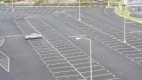 Delimitazione del parcheggio condominiale