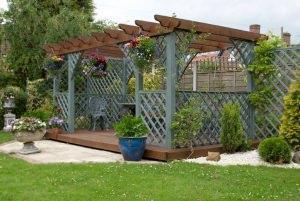 Reticolato per giardino fai da te