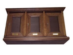 Cassetta in legno Posta 2000