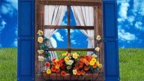 Aprire o meno finestre e balconi