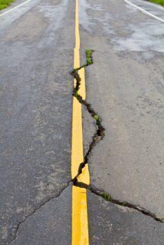 Strada dissestata