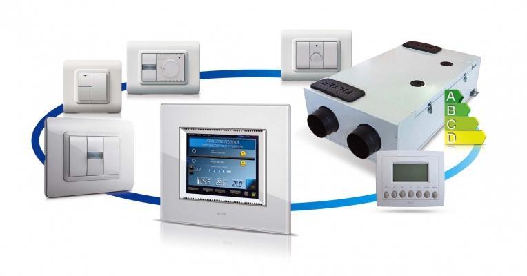 VMC integrazione sistema domotico, di AVE