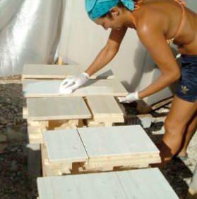 montaggio blocco in legno (di Holzer S.a.S)