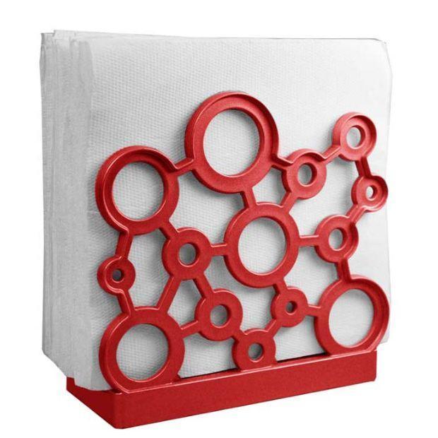 Porta tovaglioli collezione For Me Rosso Natale di Gio'Style