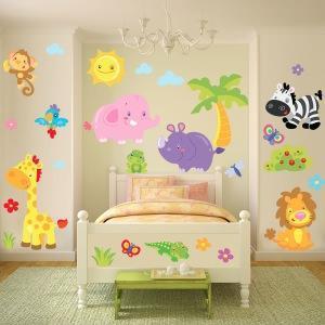 Wall stickers per bambini - Adesivi camera bimbi ...