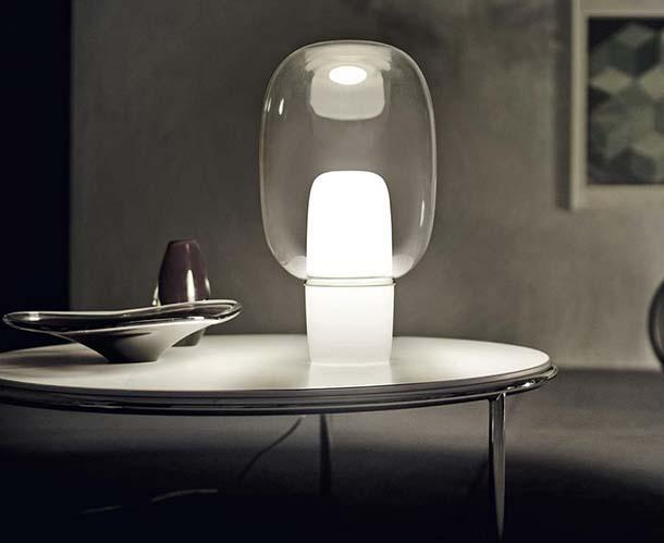Lampada da tavolo glass drop diesel with foscarini diesel with