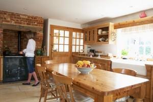Cucina rustica in legno