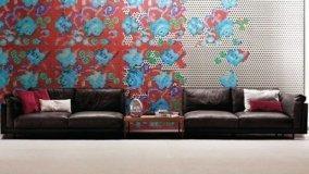 Mosaico per interni scenografico