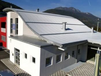 Un tetto Della Ditta Alubel