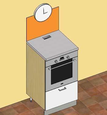 Lo schienale in Forex dietro la colonna forno