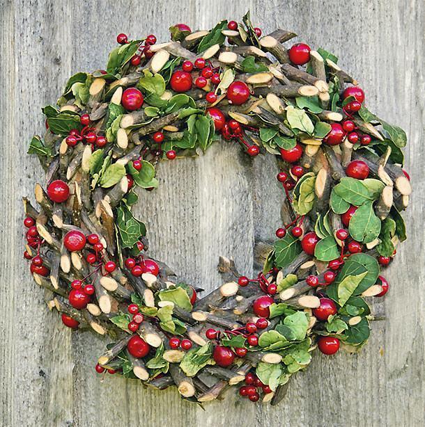 Ghirlande natalizie originali - Idee decorative per natale ...