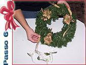 Ghirlanda natalizia: passo 6