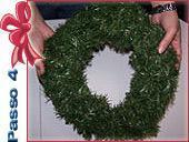 Ghirlanda natalizia: passo 4