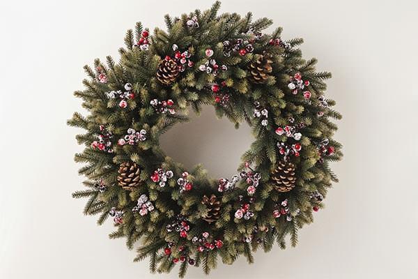 Ghirlande natalizie originali - Decorazioni natale pigne ...