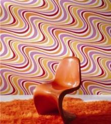 Beyla carta da parati anni 70