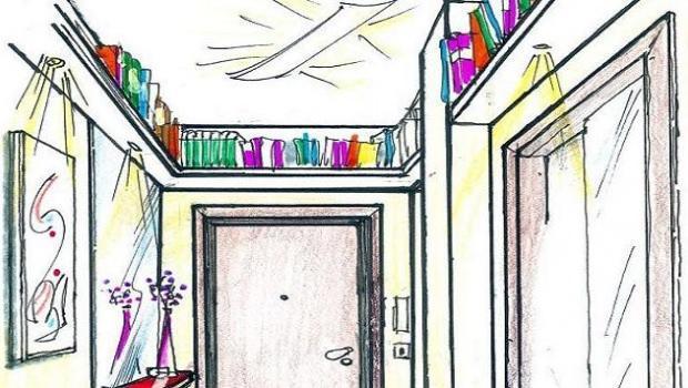 controsoffitto corridoio stretto : Illuminazione Corridoio Stretto : Librerie che arredano