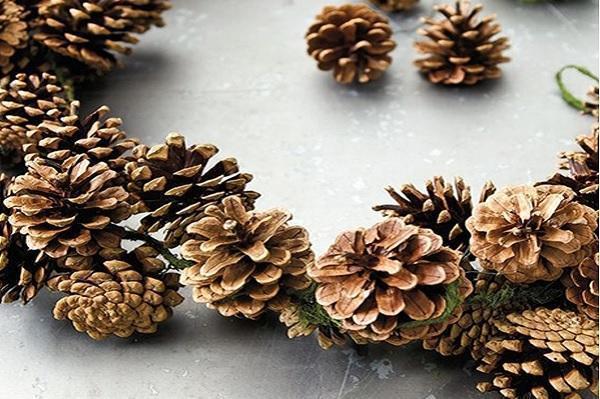 Albero di natale e addobbi come sceglierli rispettando l - Decorazioni natalizie pigne ...