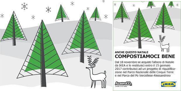 Ikea albero di Natale Compostiamoci bene