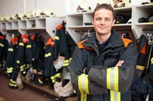 vigile del fuoco antincendio