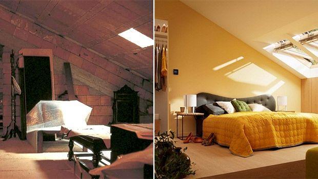 Ristrutturare un sottotetto o una soffitta - Arredare sottotetto non abitabile ...
