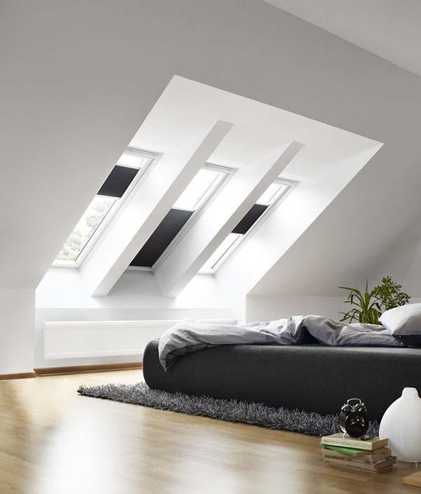 Ristrutturare un sottotetto o una soffitta for Tende oscuranti per velux non originali