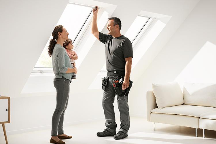Ristrutturare un sottotetto o una soffitta - Altezza minima finestre ...
