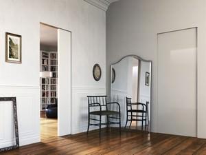 Porte scorrevoli e porte blindate per interni - L invisibile porte ...