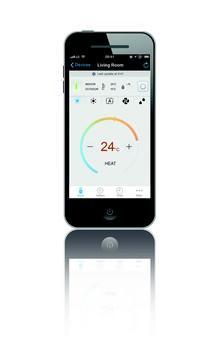 Daikin Emura: applicazione su smartphone