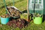 Compost in giardino
