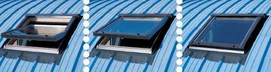 Ricambio d'aria con finestre da tetto (di Estfeller)