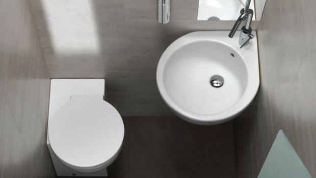 Sanitari angolari - Bagno con wc separato ...