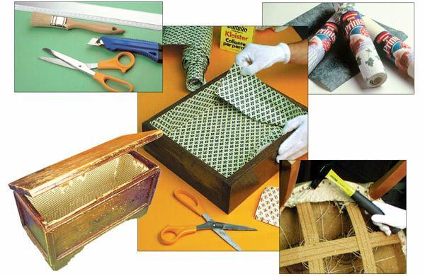 Rivestimenti e imbottiture mobili - Carta rivestimento mobili ...