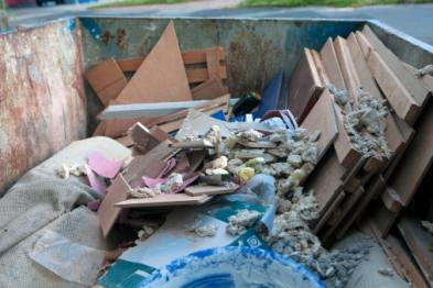materiali da riciclare