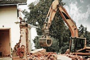 demolizione per ricostruzione