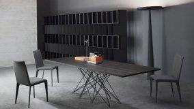 Tavoli fissi e tavoli allungabili moderni