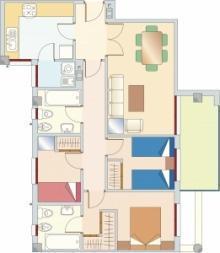 planimetria per immobile in vendita