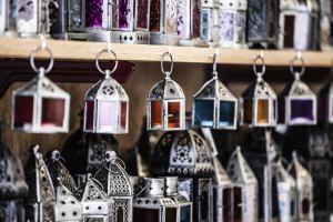 Stile etnico: lampade marocchine
