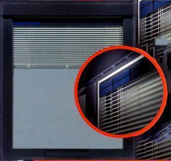 I particolari di una finestra innovativa climawin