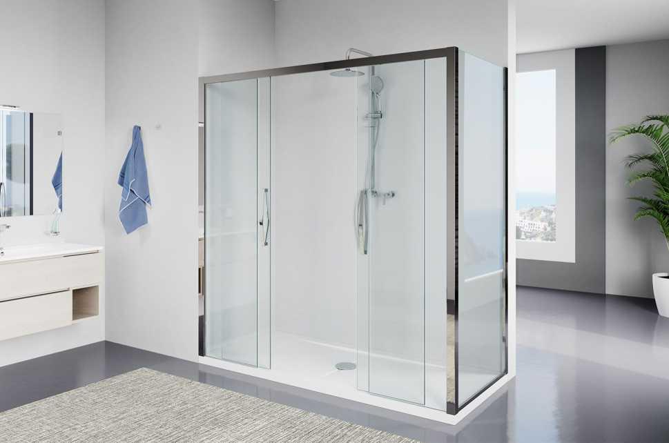 Trasformazione vasca in doccia - Modello Amerika