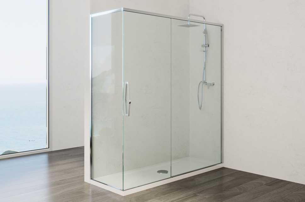 Doccia Oceania - trasformazione vasca in doccia