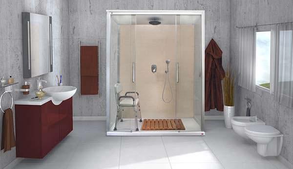 Trasformazione vasca in doccia - Rinnovare vasca da bagno ...