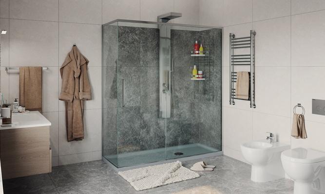 Soluzione Oceania: cambio vasca con la doccia