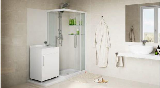 Vasca in doccia - trasformazione
