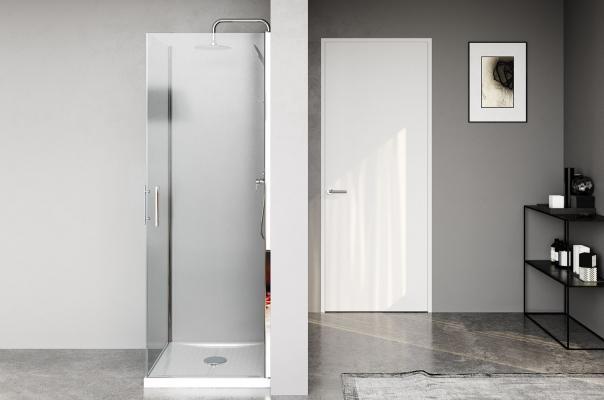 Vasca trasformata in doccia con Remail