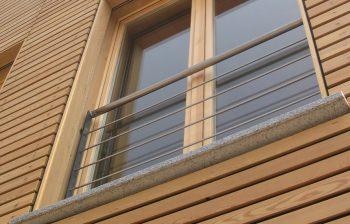 facciata performante, facciate in legno Bef