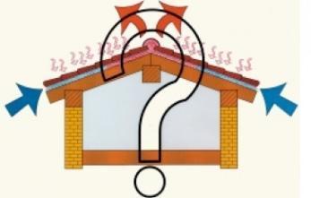 coperture ventilate in coppi (da M. D'Orazio, La progettazione delle coperture ventilate in laterizio)