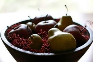 centrotavola con frutta